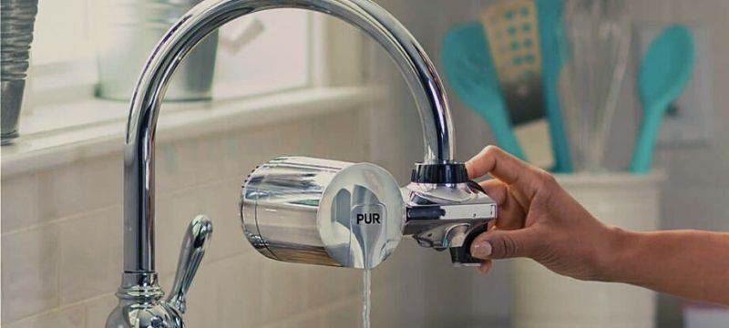 Removing a PUR Horizontal Faucet Filter