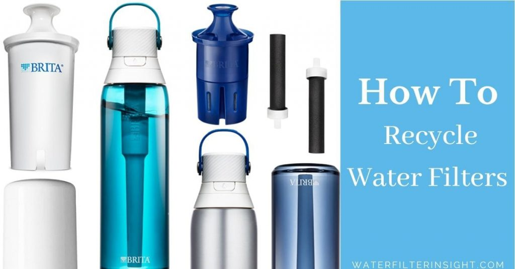 How to recycle water filters